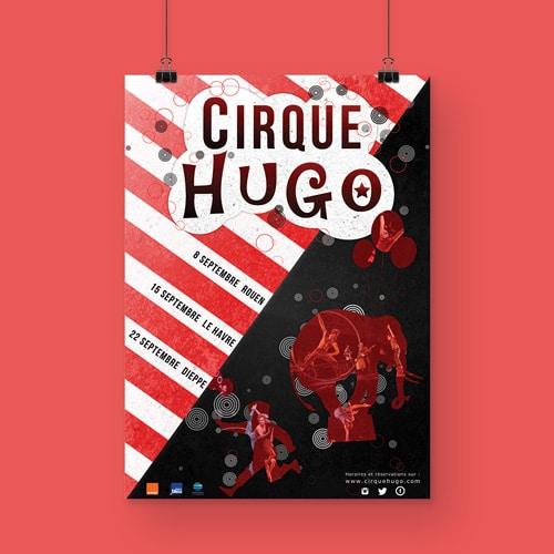 affiche cirque cyprien delapierre
